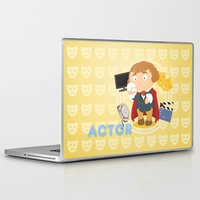 actor Laptop & iPad Skins featuring Actor by Alapapaju