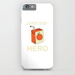 Juice Box Hero Diabetes Awareness iPhone Case