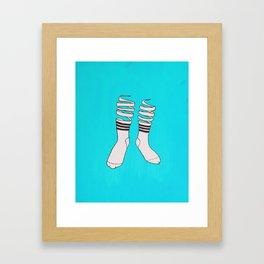 Socks Framed Art Print