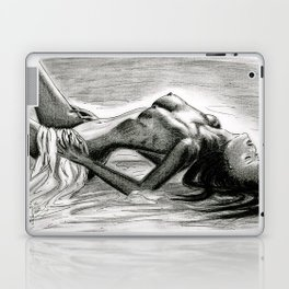 Passion in Black and White Laptop & iPad Skin