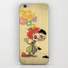 The Clown / Balloons / Facade iPhone & iPod Skin
