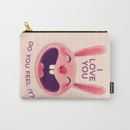 Bunny with love Carry-All Pouch