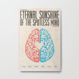 Eternal Sunshine of the Spotless Mind - Alternative Movie Poster Metal Print