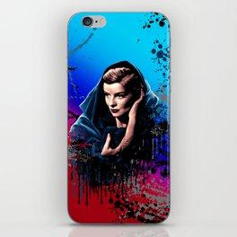 Katharine Hepburn, 60 years of drama. iPhone Skin