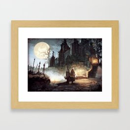 Hunter's dream Framed Art Print