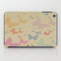 butterflies iPad Cases featuring Butterflies by Judy Palkimas
