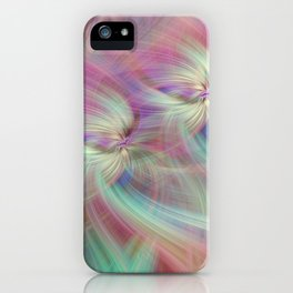 Rainbow Colored Abstract. Concept Divine Virtues iPhone Case