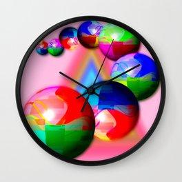 Bowling bowls Wall Clock