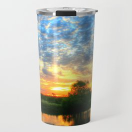 November East Texas Sunrise Travel Mug