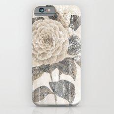 Vintage Camellia Slim Case iPhone 6s