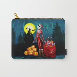Halloween Jack santa claus Skellington iPhone 4 4s 5 5c 6, ipod, ipad, pillow case Carry-All Pouch