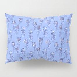 Jellyfish blue Pillow Sham