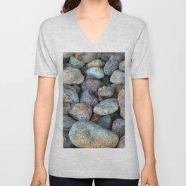 River Rocks Unisex V-Neck