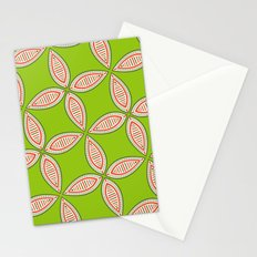 Christmas Tapestry: Green Stationery Cards