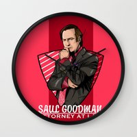 lawyer Wall Clocks featuring You need a lawyer? by Akyanyme