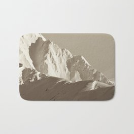 Alaskan Mts. - Mono I Bath Mat