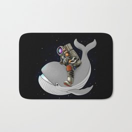 Above and beyond outer space Bath Mat