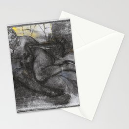 Alfons Mucha - Absinth, Study Of A Woman - Digital Remastered Edition Stationery Cards