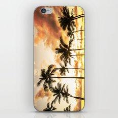 Typical Picturesque Waikiki Beach Sunset iPhone & iPod Skin