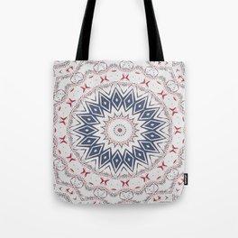 Dreamcatcher Berry & Blue Tote Bag