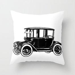 Old car 2 Throw Pillow