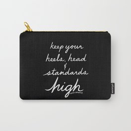 High Standards, Inverted Carry-All Pouch
