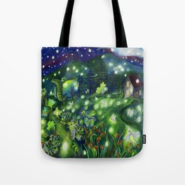 Firefly Cosmos Tote Bag