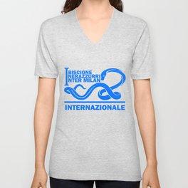 Slogan Inter Milan Unisex V-Neck