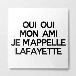 Lafayette Metal Print