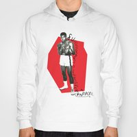 ali gulec Hoodies featuring Ali by Dayle Kornely