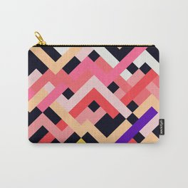 Coral&Black No. 1 Carry-All Pouch