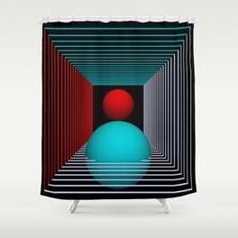 experiments on geometry -8- Shower Curtain