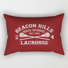 Beacon Hills Lacrosse Rectangular Pillow