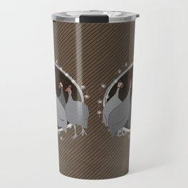Helmeted Guineafowl Travel Mug