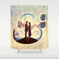 bride Shower Curtains featuring Princess Bride by Emmy Winstead