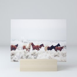 Winter Horseland Mini Art Print