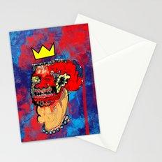 king of bla bla Stationery Cards