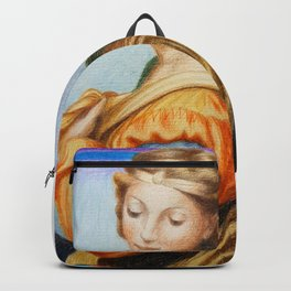 Sta Barbara. after Raphael Backpack