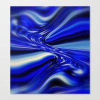 code geass Canvas Prints featuring Code Blue by Chris' Landscape Images & Designs