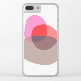 Abstract art VII Clear iPhone Case