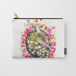 Sleepy baby quoll Carry-All Pouch