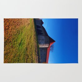 Pathway to Piberstein castle | architectural photography Rug