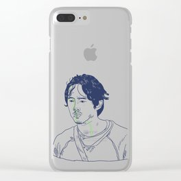 GLENN Clear iPhone Case