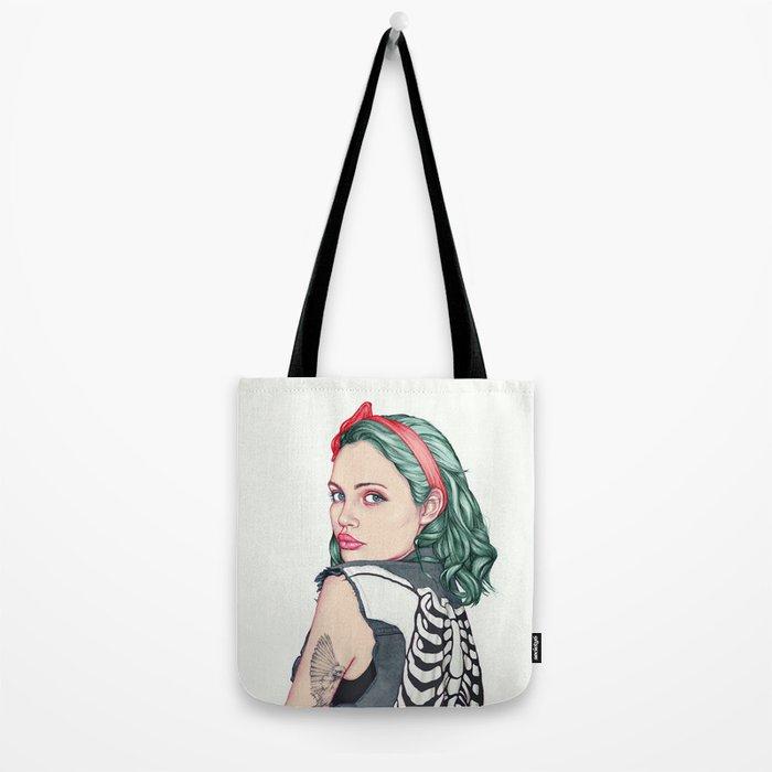 GIRL Tote Bag