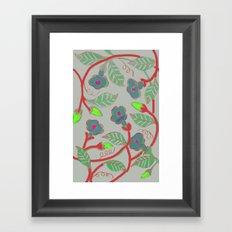 Mandavilla Framed Art Print