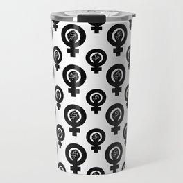 Feminist Symbol Travel Mug