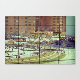 Toy Columbus Circle NYC Canvas Print