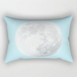WHITE MOON + BLUE SKY Rectangular Pillow