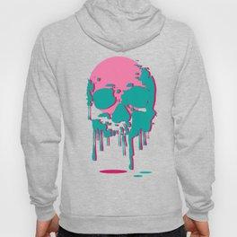 Melting Skull Head Hoody