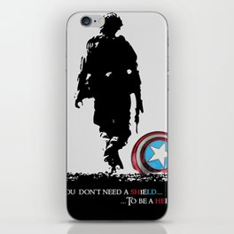 The Real Avengers iPhone Skin